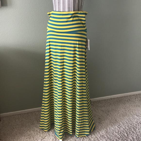 LuLaRoe Dresses & Skirts - LuLaRoe Maxi Striped skirt